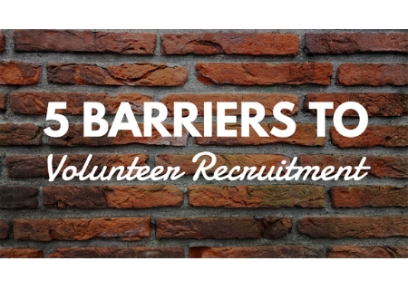 5 Barriers to Volunteer Recruitment ($19)